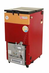 КУРГАН с газогорелочным устройством для работы котла на природном газе